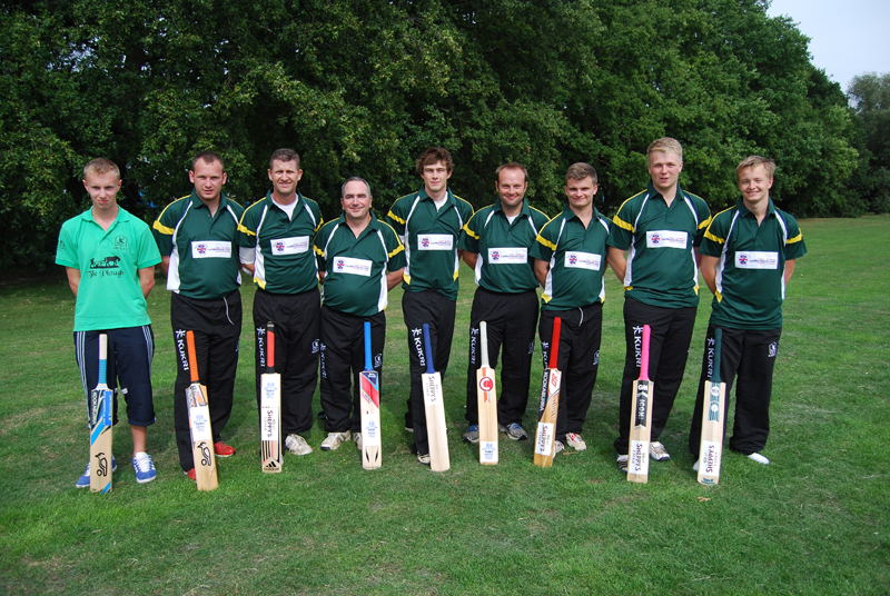 Pic of the LMS players and their bats